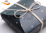 Étoile estampée par boîte-cadeau, caisse d'emballage de biscuit