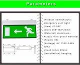 Ce RoHS de las luces Emergency del LED 3 años de la garantía de socorro de la salida de luz de la muestra