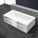 Modern Luxury Free Standing Artificial Stone Bathtub for Home Furniture (161229)