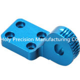 CNC Machining Factory OEM Mechanical Parts met Blue Anodizing