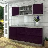 Oppeinの現代普及した低価格の小さい木製のラッカー食器棚(OP15-CX01)