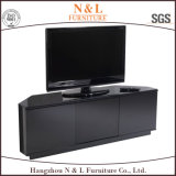 Alto Glossy TV Cabinet con Stainless Steel Legs e Handles