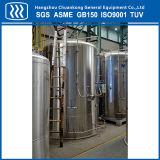 低温液化ガスの酸素の貯蔵タンク