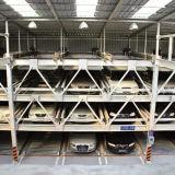 Estructura ligera prefabricada del estacionamiento del coche de acero (WZG60)