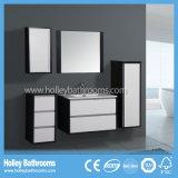 Vanità moderna della stanza da bagno della mobilia di stile della lacca calda di lucentezza (BF133M)