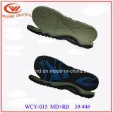 Сандалия единственное MD+Rubber Outsole пляжа способа для делать ботинки сандалий
