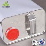 weißes Zinn des Lack-5L mit Plastiküberwurfmutter mit Dichtungs-Stecker für Schmieröl