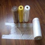 [هدب] طبع أبيض في لفّ بلاستيكيّة [ت-شيرت] حقيبة لأنّ تسوق