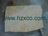 Камень гранита плитки G682 камня гранита захода солнца золотистый, плитка, сляб, Kerbstone, Paver, камень Cobble, Cubestone