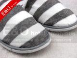 Ткань Терри хлопка Stripes тапочка гостиничного номера печатание
