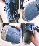 人(MD 03)のための熱い販売の平らな麻の靴
