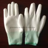 Polyester Gloves avec l'unité centrale Coated