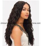 Parrucca naturale brasiliana del merletto dei capelli umani