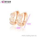 Environmental Copper 90201のXuping Fashion Women Costume Jewelry Hoop Synthetic Cubic Zirconia Earring