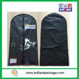 Transporteur fait sur commande en gros de procès de couverture de procès de sac de vêtement de tissu