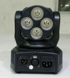 Lumière principale mobile à télécommande du lavage 6in1 de Rgbawuv
