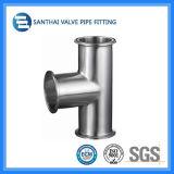Garnitures sanitaires normales de bride de pipe d'acier inoxydable DIN 3A