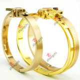 Valentine의 Day Gift (B-16)를 위한 형식 Gold Bangles Jewellry