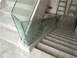 Inferriate esterne di vetro dell'acciaio inossidabile di modo di alta qualità