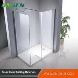 Tela de chuveiro de Frameless para o banheiro