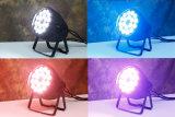 Luz movente do disco da luz da lavagem da cabeça RGBW do diodo emissor de luz do olho quente K10 da abelha da venda