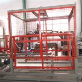 Bloco de cimento automático cheio do cimento que faz a máquina