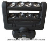 8PC 10W RGBW 4 in 1 LED Spider Beam Bar Moving Head Light/LED Spider Beam Moving Head