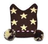 Sombrero hecho punto promocional de Earflaps de la manera del invierno