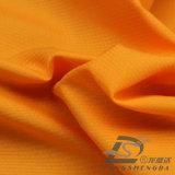 agua de 50d 290t y de la ropa de deportes tela tejida chaqueta al aire libre Viento-Resistente 100% de la pongis del poliester del telar jacquar de la tela escocesa abajo (53069)