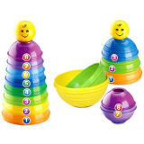 Intelligenza Funny Stack Cup Toy per Baby (H0940618)