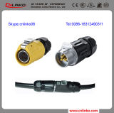 Connector 푸시-풀 IP65 3 Pin Power Connector/3pin 20A Circular Connector