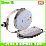 ETL 120W LED Retrofit Kit Lamp Replace 400W Mh Lamp Shoebox Street Light