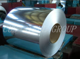 Hoja de acero revestida apaciguada Coil/OEM galvanizada dura llena del cinc del acero