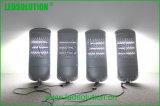 Lámpara de calle del poder más elevado LED de la aleación de aluminio de la carrocería gris para la iluminación del área