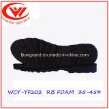 Подошва пены Outsole кожаный ботинок прочных людей напольная резиновый