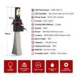 Canbus 9004 lampadine del fascio del LED Hi/Lo per la festa del fuoco