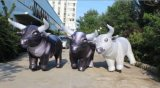 Bewegende Stier van het Stuk speelgoed van de Apparatuur van de reclame de Opblaasbare voor Commercieel Gebruik (r-521)