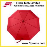 열려있는 주문 선전용 자동차 또는 로고를 가진 닫히는 접히는 우산