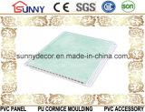 Heet verkoop het Marmeren Plafond van de Muur Panel/PVC van pvc van het Ontwerp voor BinnenDecoratie