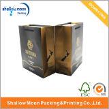 Мешок бумаги печатание золота ручки упаковывая (QY150012)
