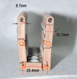 Courroie modulaire en plastique de rouleau universel de bille pour l'usine de pneu