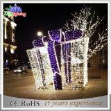 Indicatore luminoso esterno della decorazione di natale del contenitore di regalo della stringa del LED grande