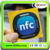 Qualität intelligente Nfc Marke/Nfc Marken-Aufkleber/Nfc Marken-freie Proben