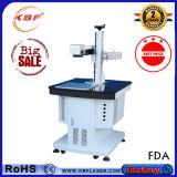 Indicatore economico del laser della fibra/macchina poco costosa da tavolino della marcatura del laser