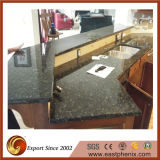 Kitchen를 위한 나비 Green Perfabricated Granite Countertop