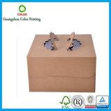 Preiswerter Kuchen-Kraftpapier-Kasten-verpackengroßverkauf