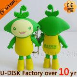 2.o 3D mecanismo impulsor de destello de la pluma del USB del PVC de la insignia de encargo promocional del regalo USB2.0/3.0