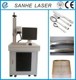 Máquina de alta velocidade da marcação do laser da fibra, máquina de gravura do laser (3he-Mf20W