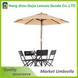 8 ' piscinas del patio del mercado de poste/parasoles de playa de madera