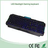 最も売れ行きの良く多彩なLEDのバックライトのコンピュータの賭博キーボード(KB-903EL-C)